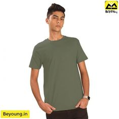 484746bb4ec Shop Best Plain T-shirts for Men Online in India at Beyoung with 100%