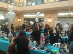 Evento solidario #fuertesyhermosas en CC El Ingenio #maquillaje #makeup #event