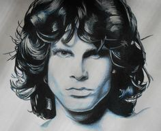 'Last words, Last words out.' - Jim Morrison ❥ Art by ildikeeee. James Douglas Morrison 1943-1971. #JimMorrison #TheDoors #Music #Rock