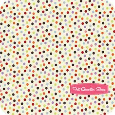 5 Funky Monkeys Cotton Cream Dots Yardage SKU# 15073-11 - Fat Quarter Shop