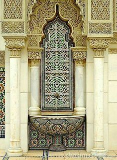 Photo about Beautiful Moroccan Architecture. Image of morocco, heritage, africa - 31959074 Islamic Architecture, Beautiful Architecture, Beautiful Buildings, Art And Architecture, Architecture Details, Moroccan Design, Moroccan Decor, Moroccan Style, Moroccan Bedroom