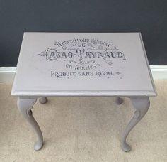 writing on furniture