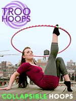 Fitness Hula Hoops – Exercise with Hula Hoops