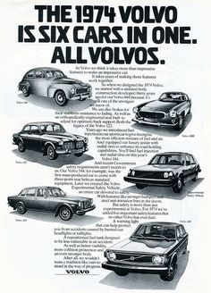 1974 Volvo Advertising Road & Track March 1974 | by SenseiAlan