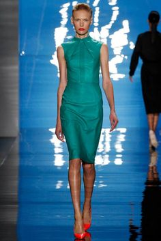 Reem Acra Spring 2013 RTW Collection    Live a luscious life with LUSCIOUS: www.myLusciousLife.com