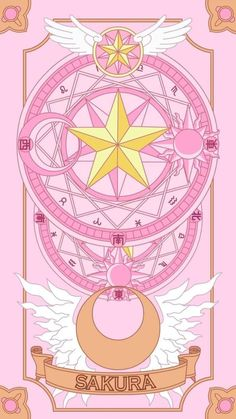 Find images and videos about pink, wallpaper and sakura on We Heart It - the app to get lost in what you love. Cardcaptor Sakura, Kero Sakura, Sailor Moon Aesthetic, Aesthetic Anime, Image Dbz, Animes Wallpapers, Cute Wallpapers, Sailor Moon Fond, Kawaii Anime
