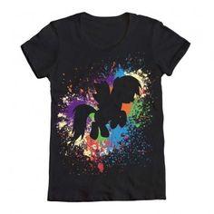 Rainbow Dash Paint Shirt