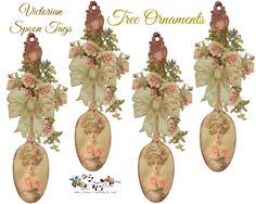glenda's World : Victorian Christmas Designs Tree Ornaments