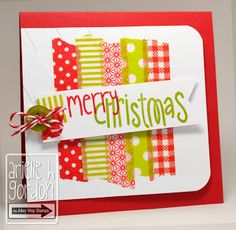 Snappy Stampin' w/ Arielle: MERRY CHRISTMAS / RS #35...