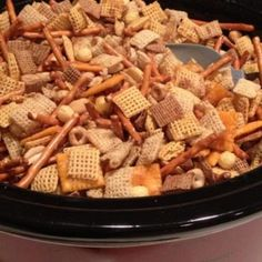 Make Homemade Chex Mix in the Crockpot Recipe