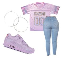 """""""~kawaii~"""" by qveenmm on Polyvore featuring NIKE"""