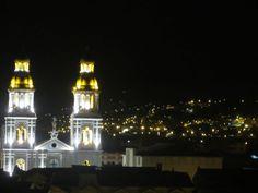 Anochece Cuenca