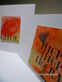 Watercolor gift cards -  Aquarel geschenkenkaartjes