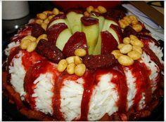 Roscas de fruta con chamoy