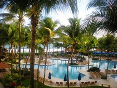 Rio Mar Resort, San Juan, Puerto Rico....a beautiful resort!! Must visit the Rain Forrest if you ever go!