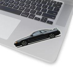 R32 GT-R Toonified Sticker - 4x4 / Transparent