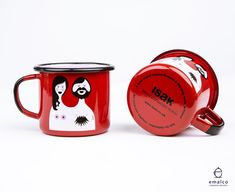 """SandraIsaksson on Twitter: """"The Blossom & Bill mugs are here! One for him and one for her, packed in 2's and available in the webshop now!… """""""