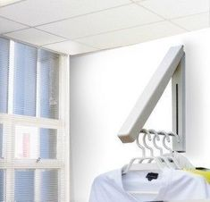 Retractable Towel Bar   Google Search. Reinforced Version Mini Wall Clothes  Hanger Contracted Creative Hidden Hanging Clothes Hanger Household Wall  Hook ...