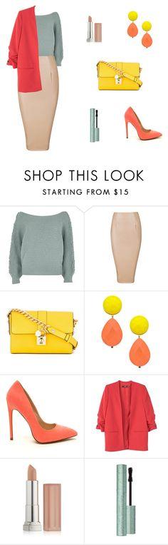 """Shter.com"" by katarinasterenberg on Polyvore featuring мода, Dolce&Gabbana, David Aubrey, MANGO, Maybelline и Too Faced Cosmetics"