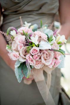 Romantic bridesmaid