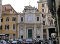Oratorio del Santissimo Crocifisso, Rome.  A 17th century oratory (now a small church) built in 1568. The dedication is to the Holy Cross.
