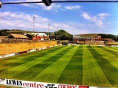 The Dripping Pan, Lewes FC #LewesLove Soccer Stadium, Football Stadiums, Lewes Fc, Terraces, Golf Courses, Decks, Terrace