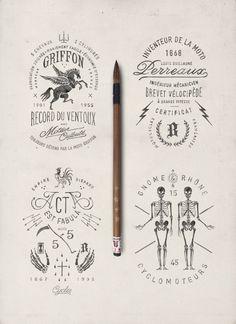 BMD design est un studio graphique bordelais tenu depuis 2001 par Bruno Michaud, un illustrateur et dessinateur de lettre authentique.