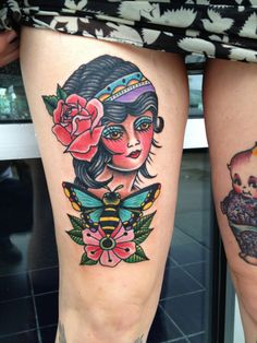 artistic pretty tattoos | tattoo # tattoos # art # pretty lady