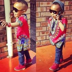 10 Things That Prove You Might Be a Closet Afrocentric African Babies, African Children, African Women, African Attire, African Wear, African Fashion, African Shirts, African Dress, Toddler Fashion
