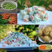 Ensalada rusa Ensalada de papa / #Ensalada #papa #rusa Ensalada Rusa Recipe, Potato Salad, Potatoes, Ethnic Recipes, Food, Salads, Potato, Essen, Meals