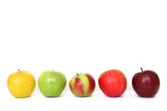 Typology of apples.