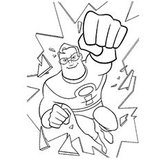 18 Best Incredibles images | Coloring pages, Coloring ...