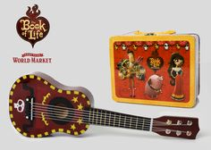 Enter to win a $25 Visa gift card to see The Book of Life in theaters and a Mini guitar & keepsake box from Cost Plus World Market #BookOfLife