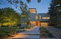 Modern Style and Sensibility In a Traditional D.C. Neighborhood