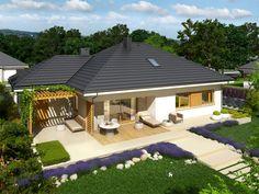 DOM.PL™ - Projekt domu AC Flo III G1 CE - DOM AF7-99 - gotowy projekt domu
