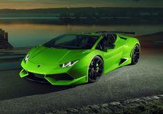 Lamborghini Huracan Spyder độ Novitec N-Largo siêu đẳng cấp