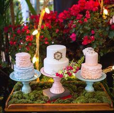 Wedding - Mesa do bolo ❤️ by me