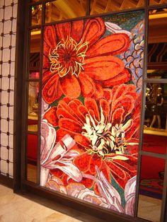 Floral Mosaic at Wynn Las Vegas