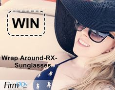 Enter for a chance to win @Firmoo Eyeglasses & @itsmesaannaa a pair of NEW Wrap Around RX Sun Glasses.