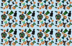 Princess and bears fabric by 1211lynn on Spoonflower - custom fabric