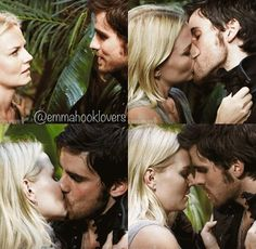 I can feel my heart breaking when I look at this! Emma belongs with Neal! #onceuponatime