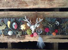 Textile bracelet.