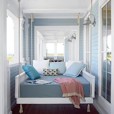 The sleeping porch a