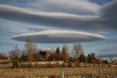 New amazing UFO cloud photo taken over Longmont, Virginia on 21st September 2013.