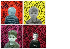 les petites têtes de l'art Yayoi Kusama, Portraits For Kids, Birthday Display, Dot Day, Ecole Art, Arts And Crafts Projects, Photography Projects, Portrait Photo, Art Plastique