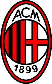 ac milan logo - tegenstander Europa League Sc Heerenveen