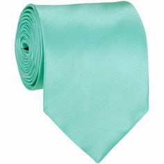 - Aqua Blue - Solid Tie: Express your individual image and style with this Microfiber satin solid color neckties. The color of this stunning tie features the lustrous shine of satin. Made with a woven interlining this tie makes a beautiful full knot. Formal Tie, Formal Tuxedo, Formal Wear, Extra Long Ties, Tiffany Wedding, Tiffany Party, Wedding Ties, Wedding Stuff, Wedding Attire
