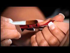 Mia Secret   French Manicure & Sistema Acrílico - YouTube