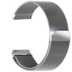 Aerb Milanese Loop Stainless Steel Mesh Bracelet Replacement Strap W Unique Magnetic Closure for Fitbit Blaze Smart Fitness Watch, Silver * Tried it! Love it! Click the image. : Fitness Technology
