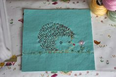 What We're Making! Hedgehog by Penguin & Fish | Pink Chalk Studio